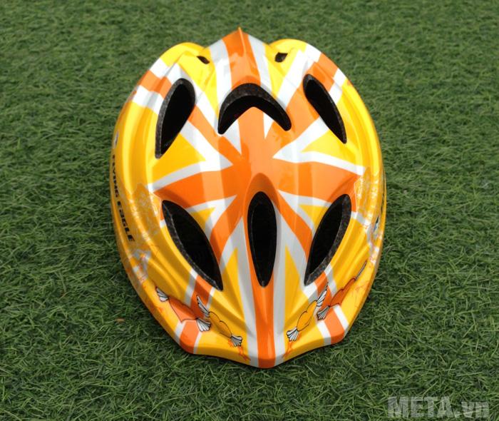 Mũ bảo hiểm Patin V5 màu cam