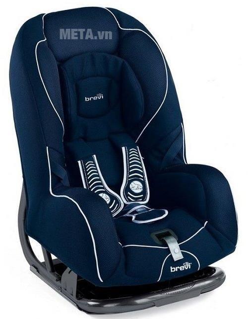 Ghế ngồi ô tô cho bé màu xanh đậm