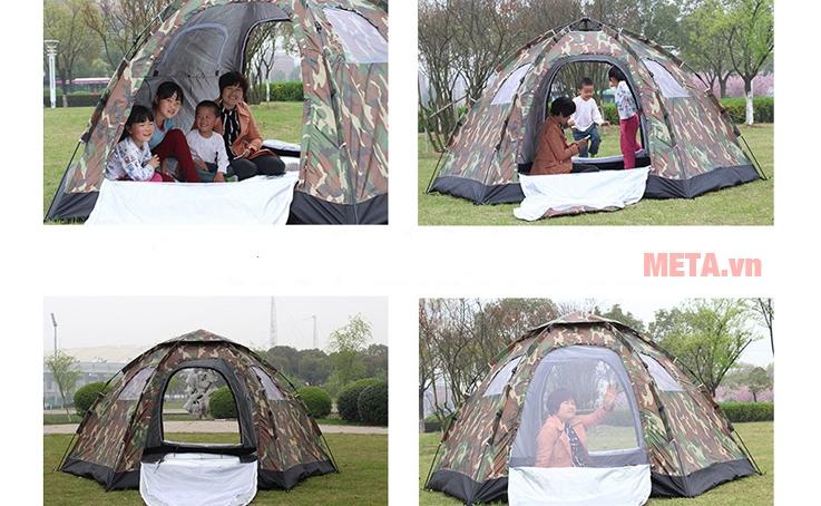Lều trại bật tự động