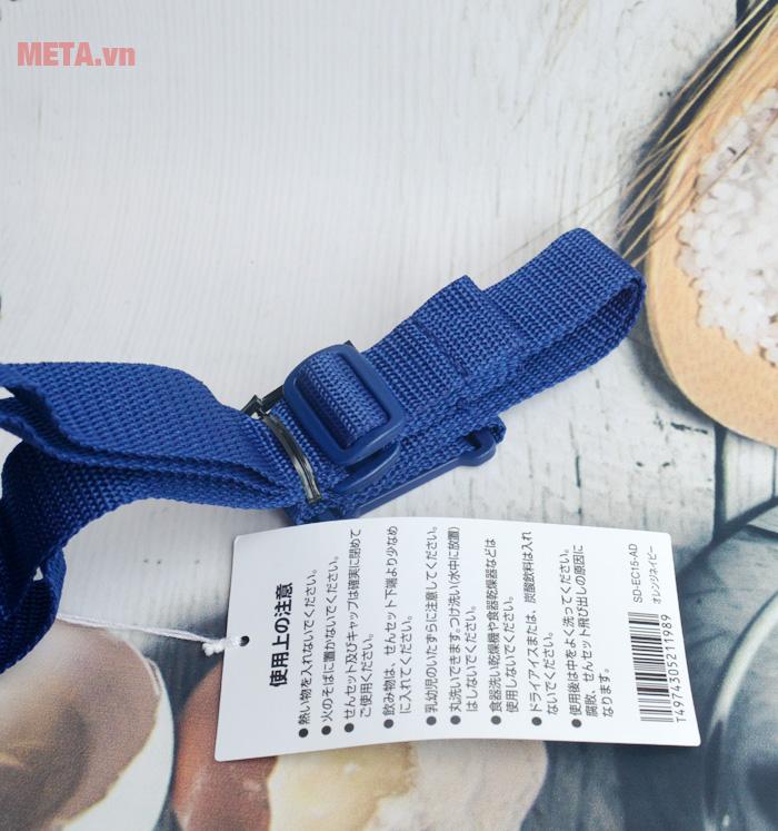 Dây đeo của bình có thể điều chỉnh tùy theo người dùng