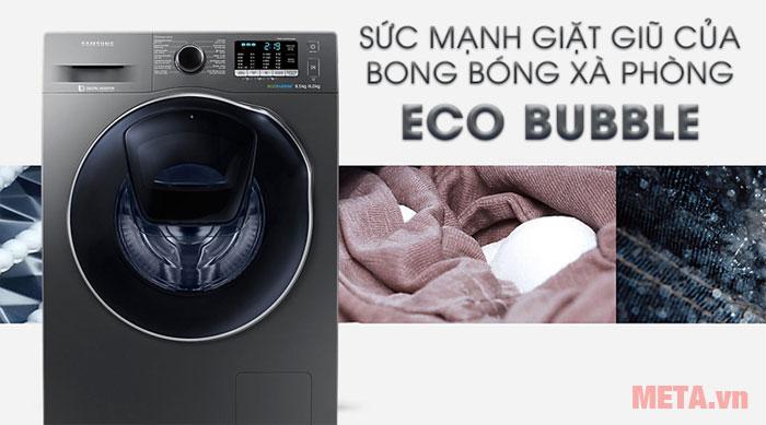 Chế độ giặt bong bóng xà phòng