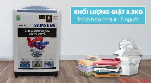 Máy giặt lồng đứng WA85M5120SW/SV