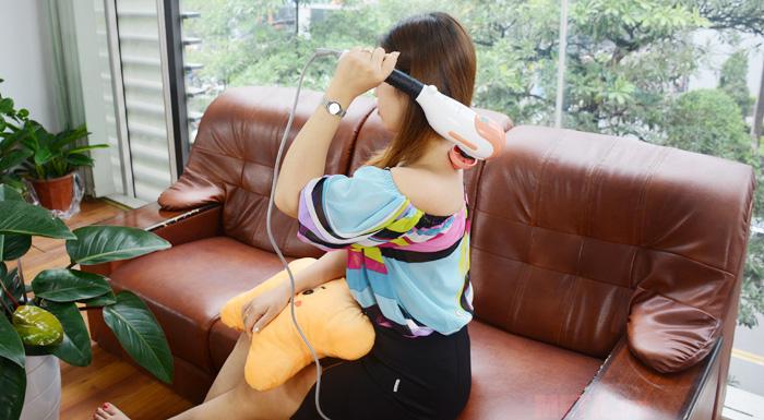 Hình ảnh sử dụng máy massage