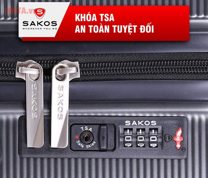 Vali có khóa an toàn tuyệt đối