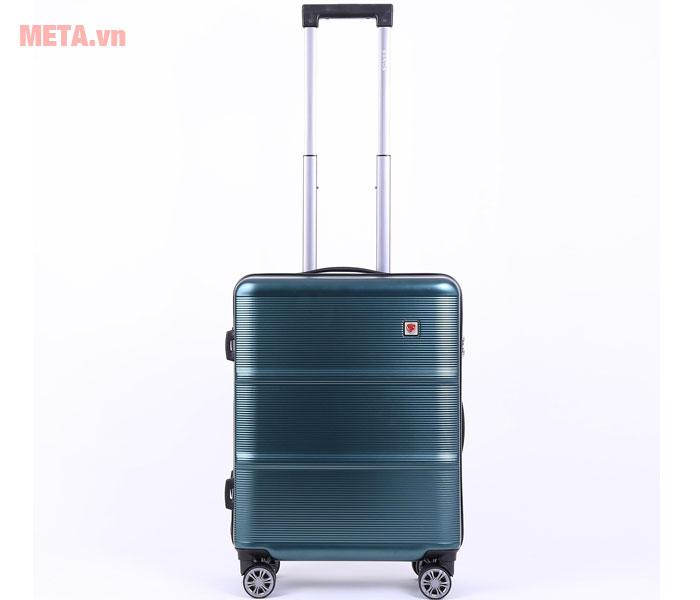 Cần kéo của vali có thể điều chỉnh chiều cao