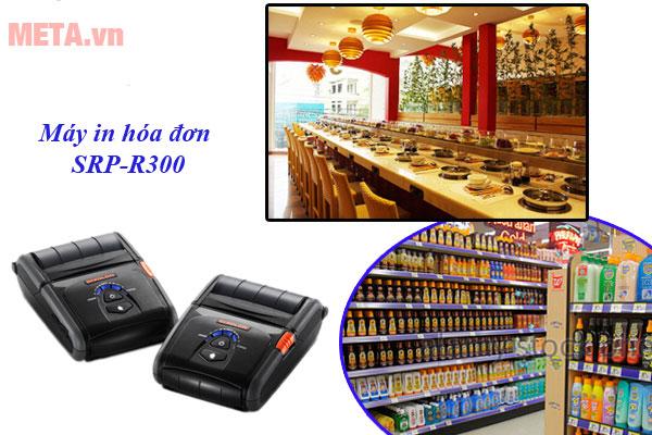 Ứng dụng rộng rãi trong các nhà hàng, siêu thị