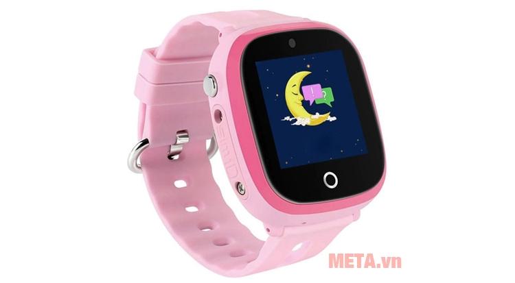 Hình ảnh đồng hồ định vị Wonlex 400X màu hồng