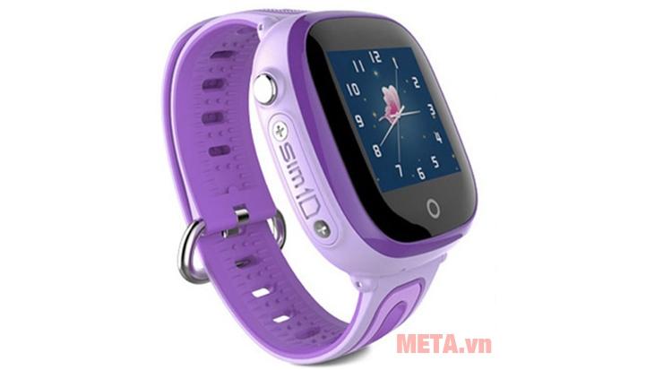 Đồng hồ định vị Wonlex 400X màu tím