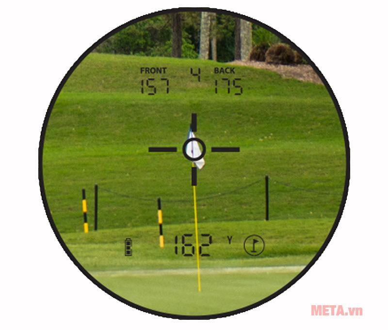 Ống nhòm đo khoảng cách Bushnell Hybrid GPS