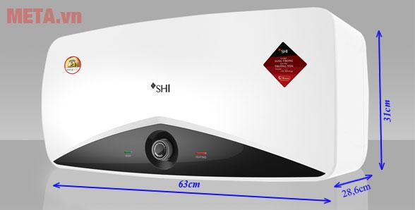 Kích thước máy nóng lạnh