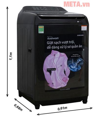 Máy giặt cửa trên WA16N6780CV/SV