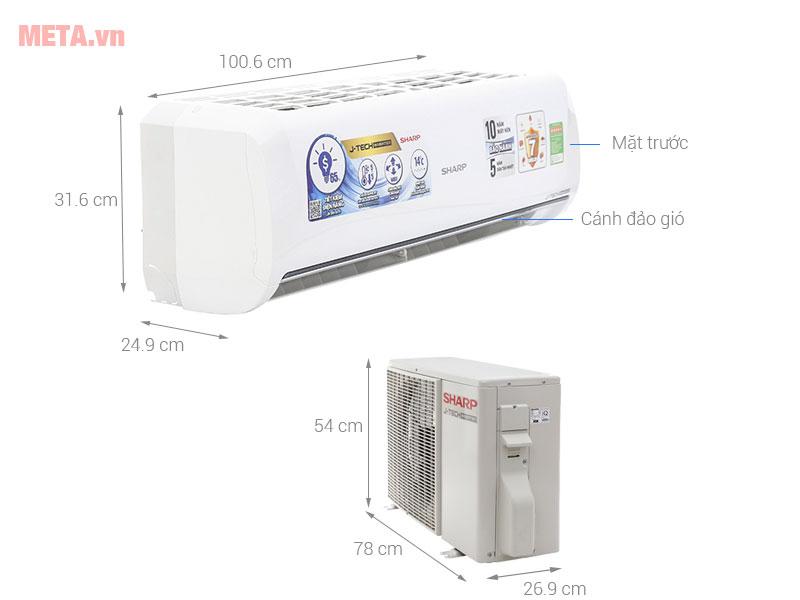 Cấu tạo của máy lạnh