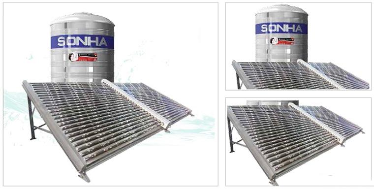 Hình ảnh Thái dương năng công nghiệp 500 lít