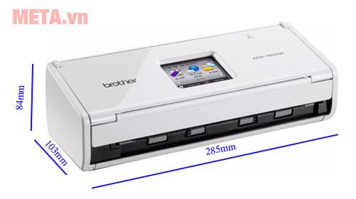 Kích thước máy quét ADS-1600W