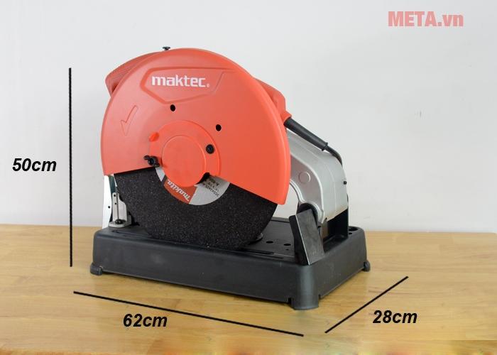 Kích thước mmáy cắt sắt Maktec MT241