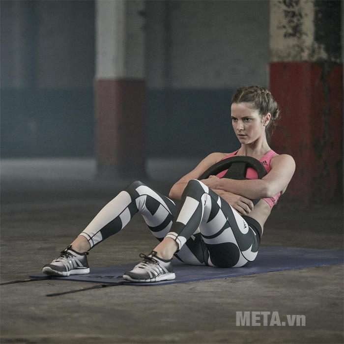 Thảm yoga Adidas ADMT-12234PL giúp bạn luyện tập hiệu quả hơn