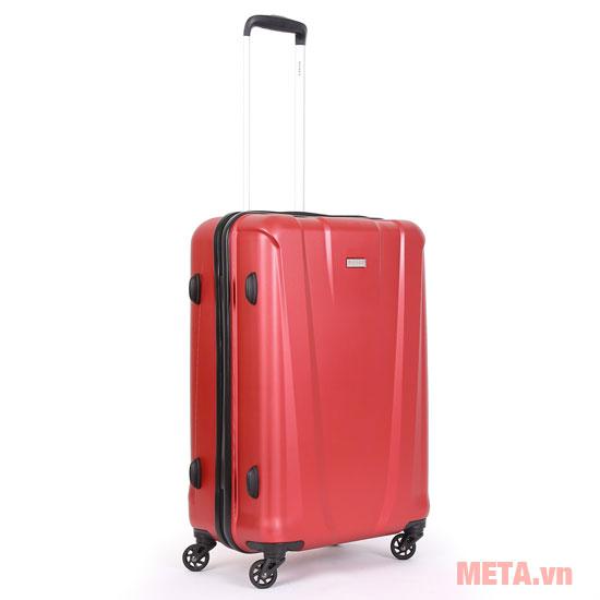 Vali nhựa màu đỏ