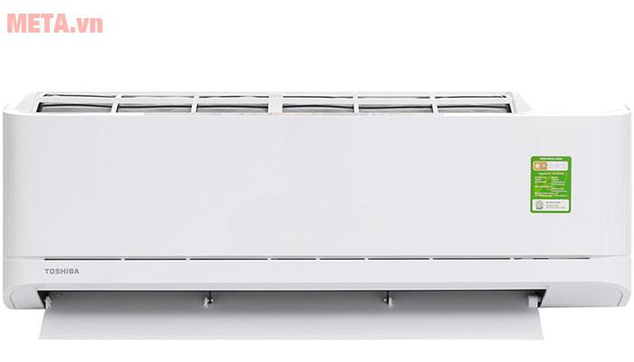 Điều hòa 1 chiều Toshiba RAS-H10U2KSG-V 9.000BTU có màu trắng trang nhã.
