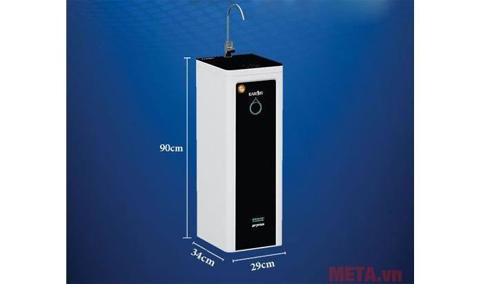 Kích thước máy lọc nước Karofi