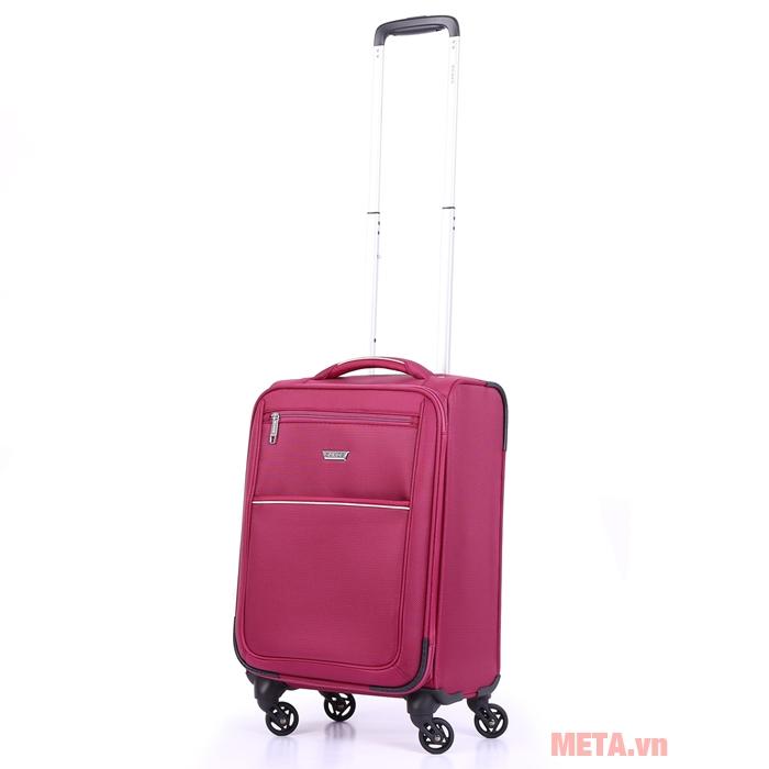 Vali kéo Sakos Horizon 4.5 màu hồng
