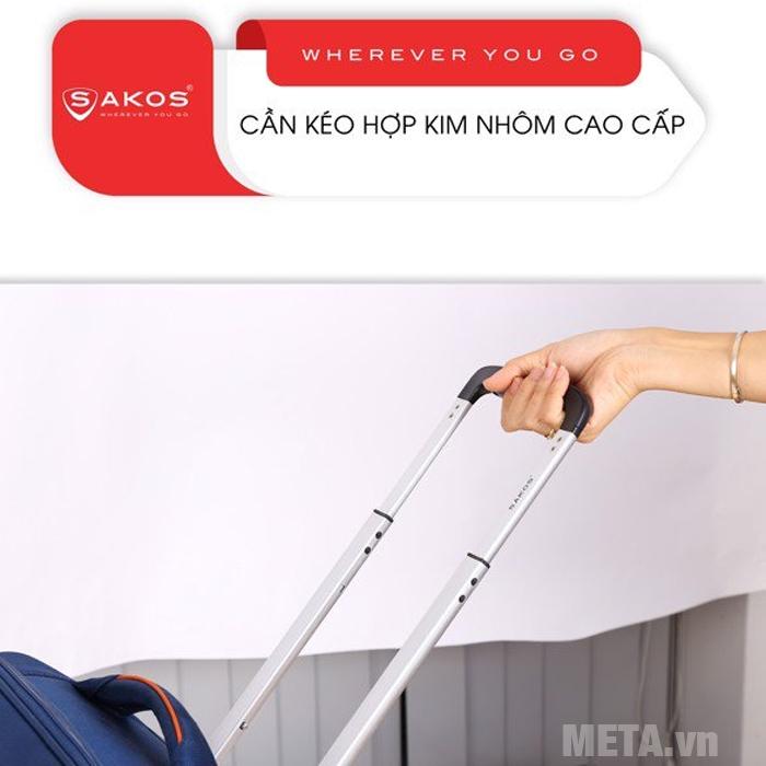 Vali kéo Sakos Horizon 4.5 có tay kéo bằng hợp kim nhôm cao cấp