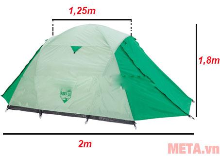 Kích thước lều trại