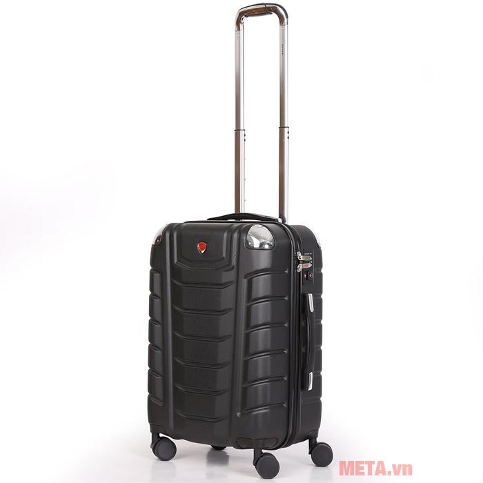 Vali kéo Sakos Beryl Suitcase Z22 màu đen