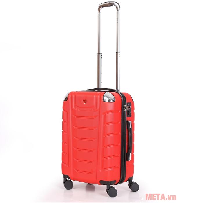 Vali kéo Sakos Beryl Suitcase Z22 màu đỏ