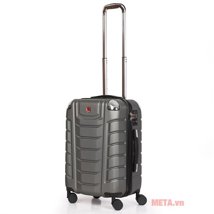 Vali kéo Sakos Beryl Suitcase Z22 màu ghi