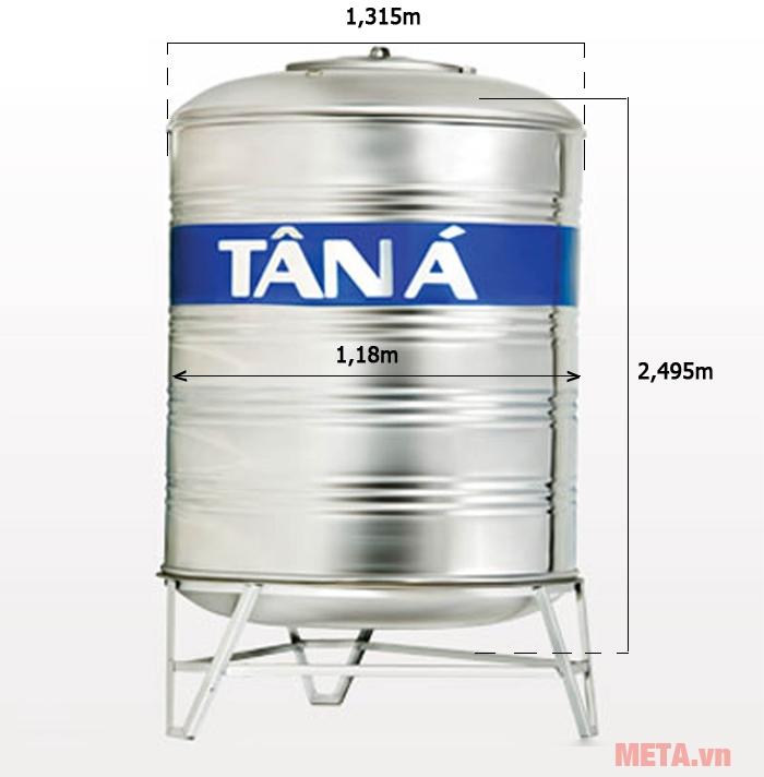 Bồn nước Tân Á TA2500 (Ф1180)