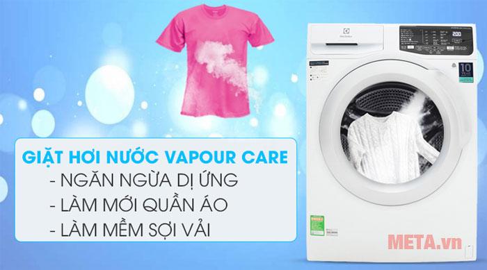 Công nghệ giặt hơi nước hiện đại
