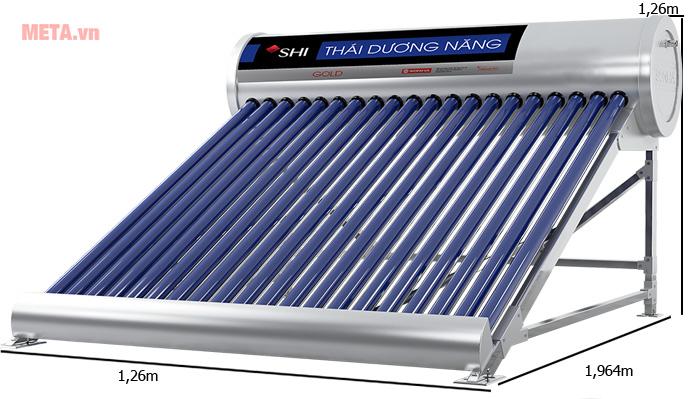 Máy nước nóng năng lượng