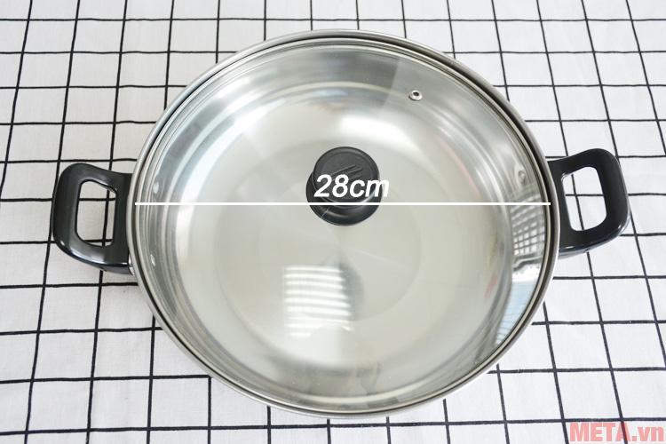 Bếp điện từ Sunhouse SHD6800 được tặng kèm nồi lẩu