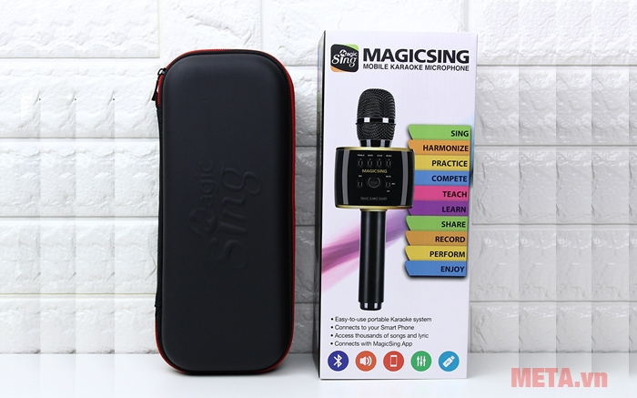 Hộp đựng micro Magic Sing MP-30