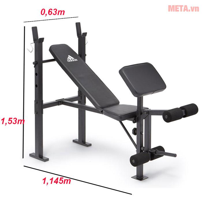 Kích thước của ghế