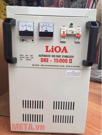 Ổn áp 1 pha Lioa 15KVA DRI 15000 có động cơ Servo 1 chiều