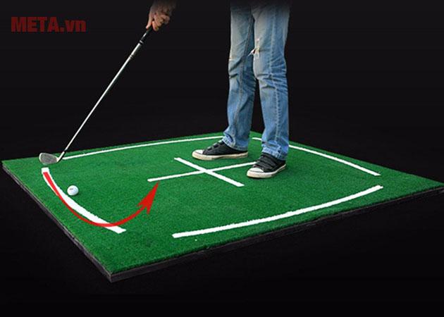 Thảm golf có thiết kế tiện lợi
