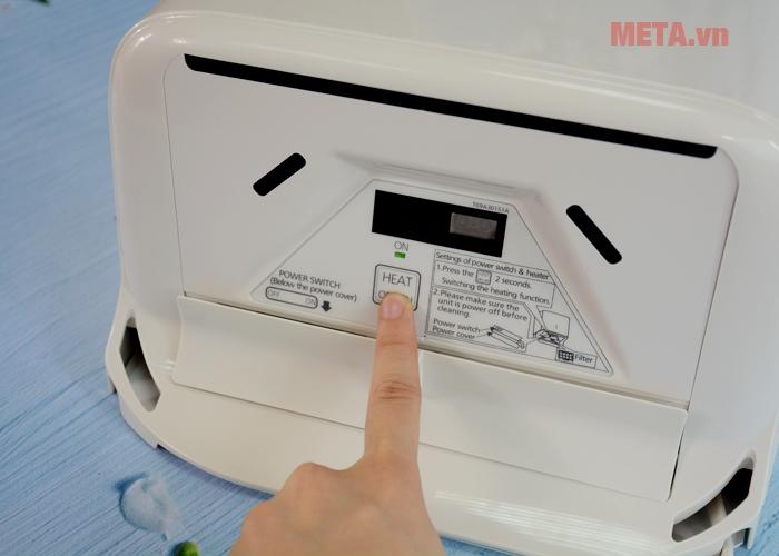 Nút bật/tắt chức năng nhiệt