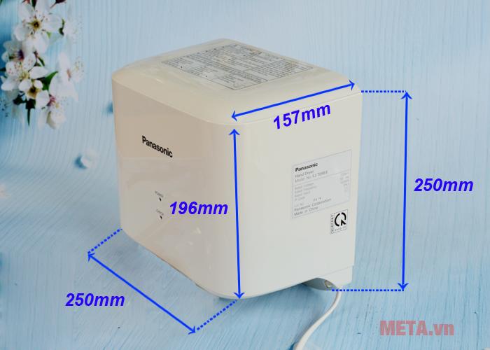 Kích thước máy sấy tay Panasonic FJ-T09B3