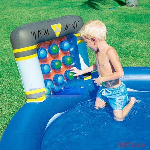 Bể bơi phao có chất liệu cao cấp