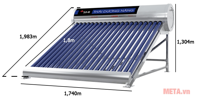 Máy nước nóng năng lượng mặt trời F58
