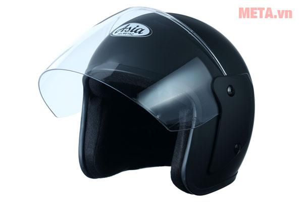 Mũ bảo hiểm màu đen