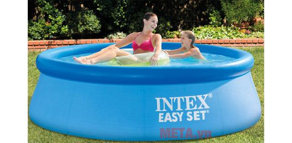 HÌnh ảnh bể bơi phao gia đình INTEX 28110