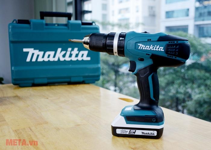 Hình ảnh máy khoan Makita HP457DWE
