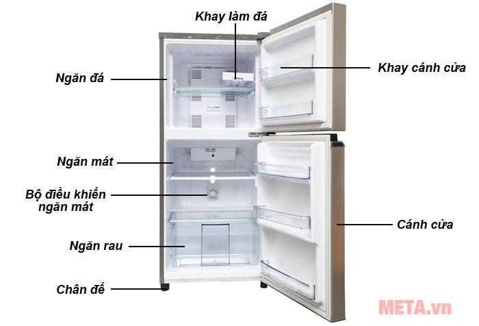 Cấu tạo tủ lạnh NR-BA178PSV1