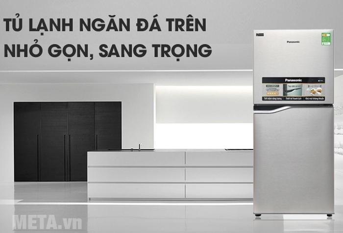 Tủ lạnh Inverter NR-BA178PSV1 tạo điểm nhấn cho không gian sống