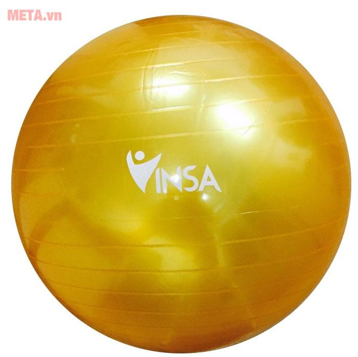 Bóng yoga màu vàng