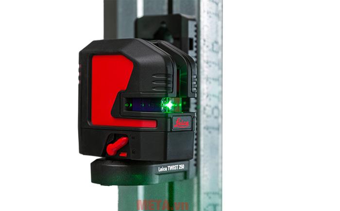 Máy có khả năng đo phương ngang và phương đứng