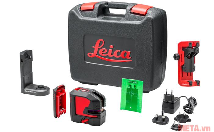 Hình ảnh máy cân mực Laser xanh Leica LINO L2G+