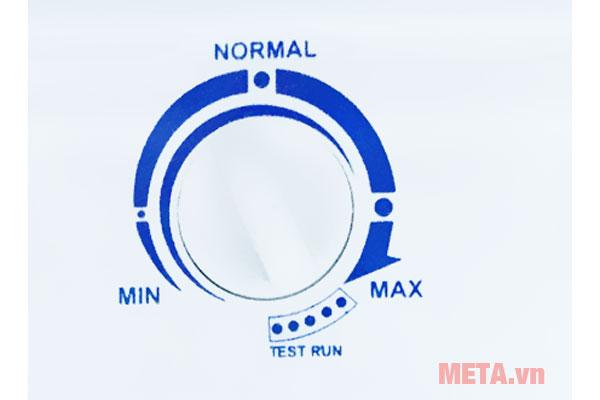 Nút điều chỉnh nhiệt độ dễ dàng thao tác
